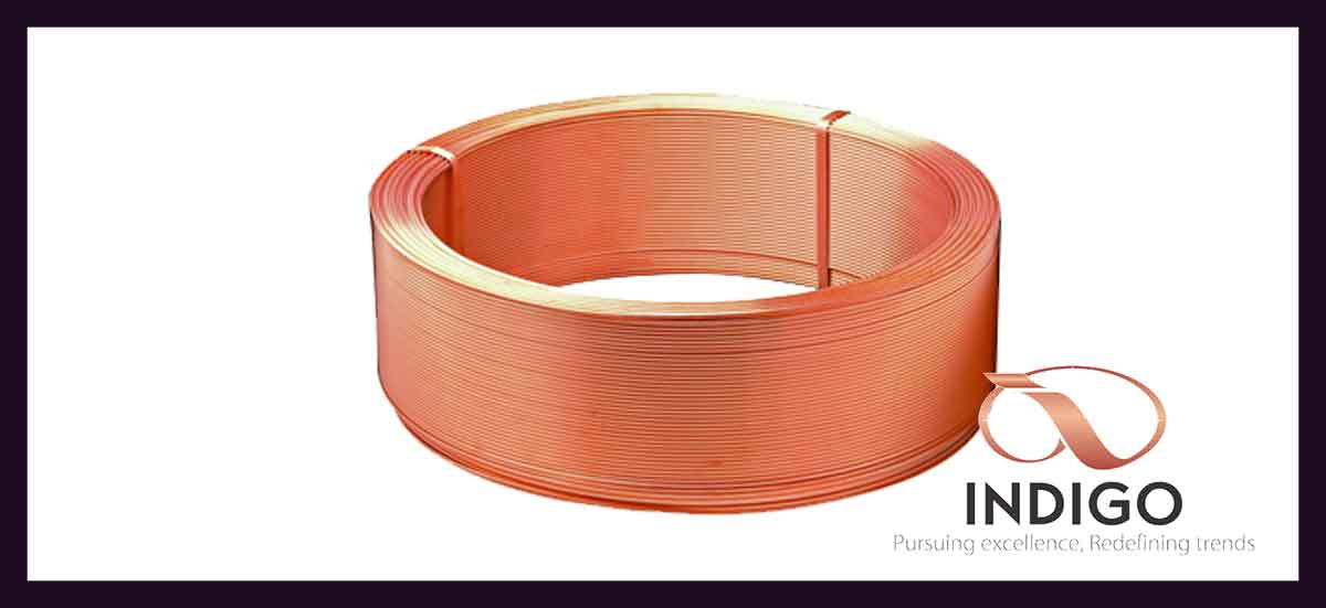 Level Wound Copper Coil Plain & Inner Grooved Tubes