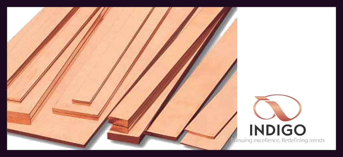Copper Busbars, Strips, Sheets & Flats