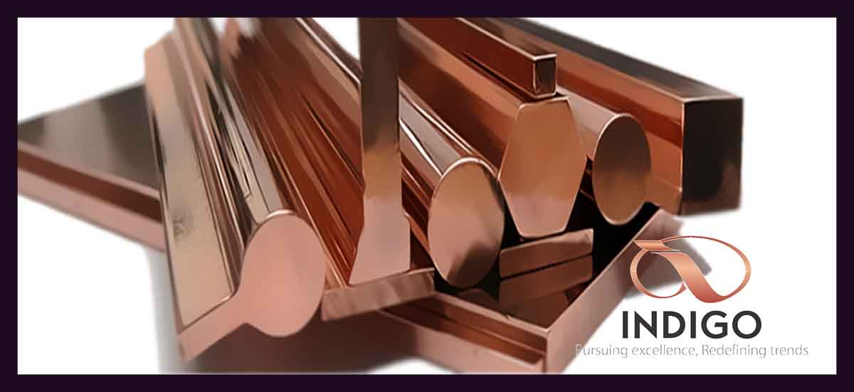 Copper Pipes, Rods & Sections